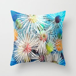 The Fruit Bowl Throw Pillow