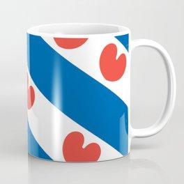 Flag of Friesland Coffee Mug