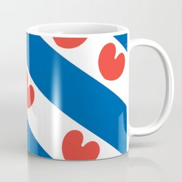 Flag of Friesland Coffee Mug