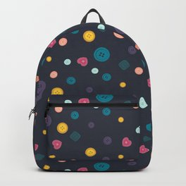 Buttons, buttons, buttons Backpack