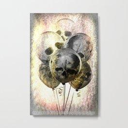 Skulloons B10 Metal Print