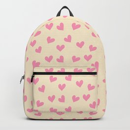 Valentines Heart Pink Pearl #Valentines Backpack
