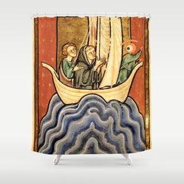 ship of fool ojolo Shower Curtain