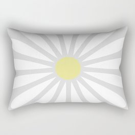 Pale Daisy Rectangular Pillow
