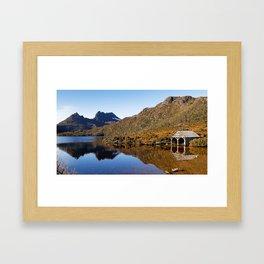 Morning at Dove Lake Framed Art Print