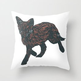 first steps into the new year Throw Pillow