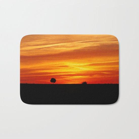 Dramatic sundown Bath Mat