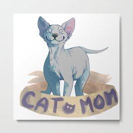 Cat Mama Metal Print