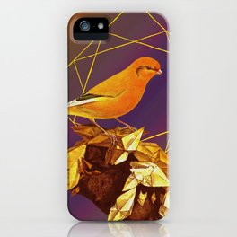 Topaz Canary iPhone Case