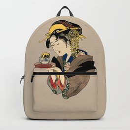 Tea Time with Pug Backpack