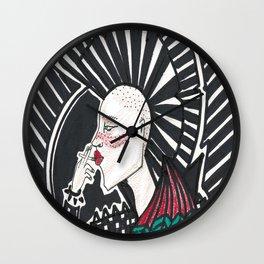 The punk rocker Wall Clock