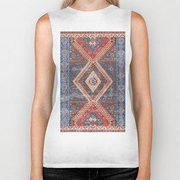 (N16) Boho Moroccan Oriental Artwork for Rustic and Farmhouse Styles. Biker Tank