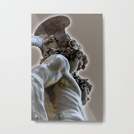 The 3 Faces of Perseus Metal Print