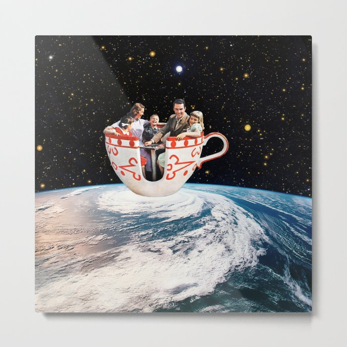 Storm in a Cup Metal Print