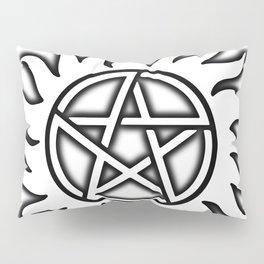 Anti Possession Sigil Black Glow Transp Pillow Sham