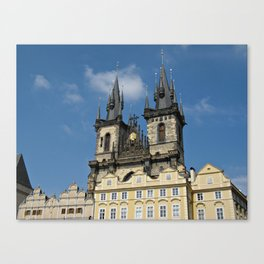 Tyn Church Prague Canvas Print