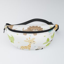 Jungle Animals Fanny Pack