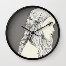 D T Wall Clock