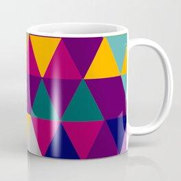 Multicolor triangle shapes pattern Coffee Mug