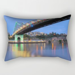 Christmas Bridge Rectangular Pillow