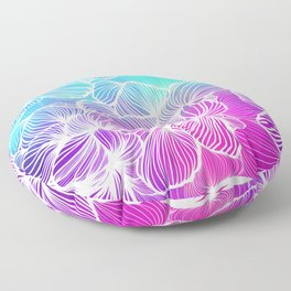 Tropical Cold Front Floor Pillow