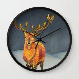 Midwinter Wall Clock