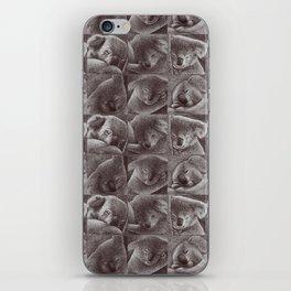 Sleepy Koala iPhone Skin