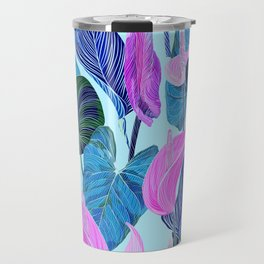 Lush Lily - cool brights Travel Mug