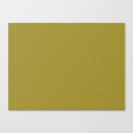 yellow and green pattern  Canvas Print