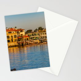 Morning at Newport Harbor Entrance Stationery Cards