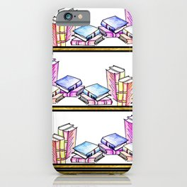 The Bookshelf iPhone Case
