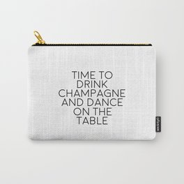 Party Decorations Chamapage Gift Party Like Gatsby Birthday Decorations Bar Decor Quotes Champagne Carry-All Pouch