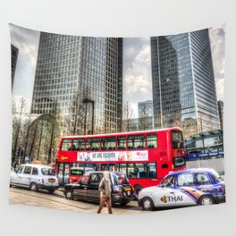 A Stroll Through London Wall Tapestry