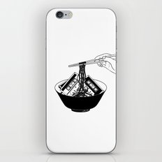 Enjoy Your Meal iPhone & iPod Skin