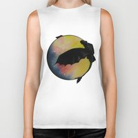 toothless Biker Tanks featuring Toothless by Emilee's Fine Art
