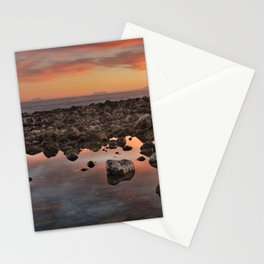 Gibraltar, Africa and Spain in one photo Stationery Cards