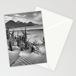 Dunes. Genoveses Beach. Bw Stationery Cards