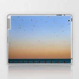 Seagulls Over Lake Michigan Laptop & iPad Skin