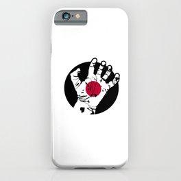 Japan Hand iPhone Case