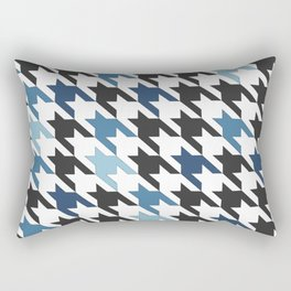 Blue Tooth Rectangular Pillow