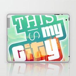 THIS IS MY CITY - Meet you in Los Santos! Laptop & iPad Skin