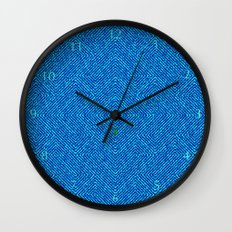 Bardarbunga Mint Wall Clock