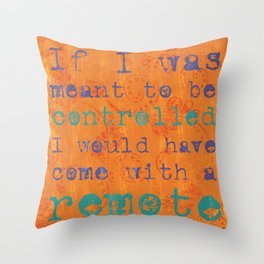 Back to Campus Throw Pillow