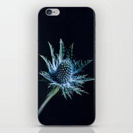 Blue Thistle iPhone Skin