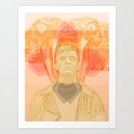 Cillian Murphy Art Print