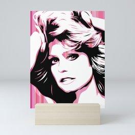 Farrah Fawcett | Pop Art Mini Art Print