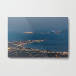 A paradise in Sicily Metal Print