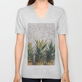Pineapple Luxe Unisex V-Neck