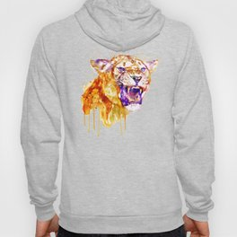 Angry Lioness Hoody