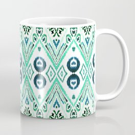 Ikat Java Mint Coffee Mug